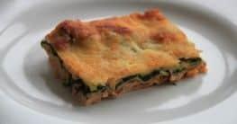 Lachs Lasagne mit Spinat