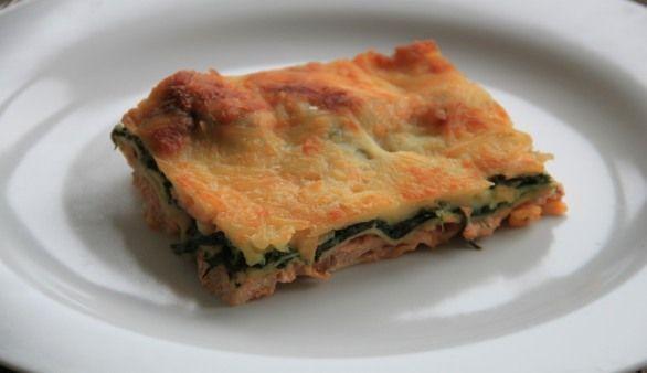 Lachs Lasagne Mit Spinat Rezept