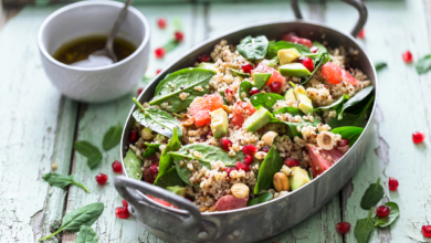 Quinoa mit Avocado