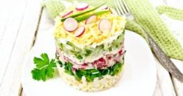 Schichtsalat Rezept